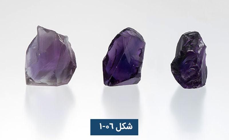 ارزشگذاری سنگهای قیمتی رنگی