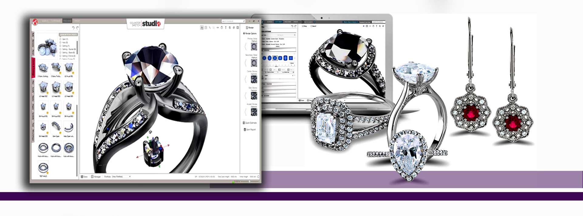 نحوه طراحی جواهرات سفارشی