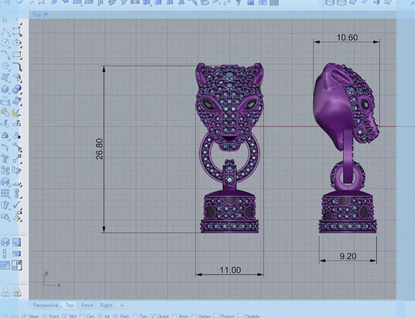 طراحی جواهر با رایانه