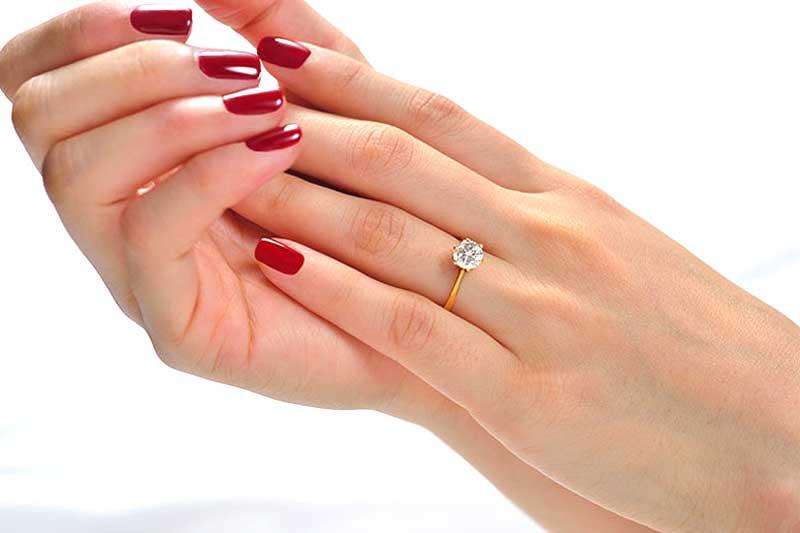 انگشتر مناسب با انگشتان دست شما