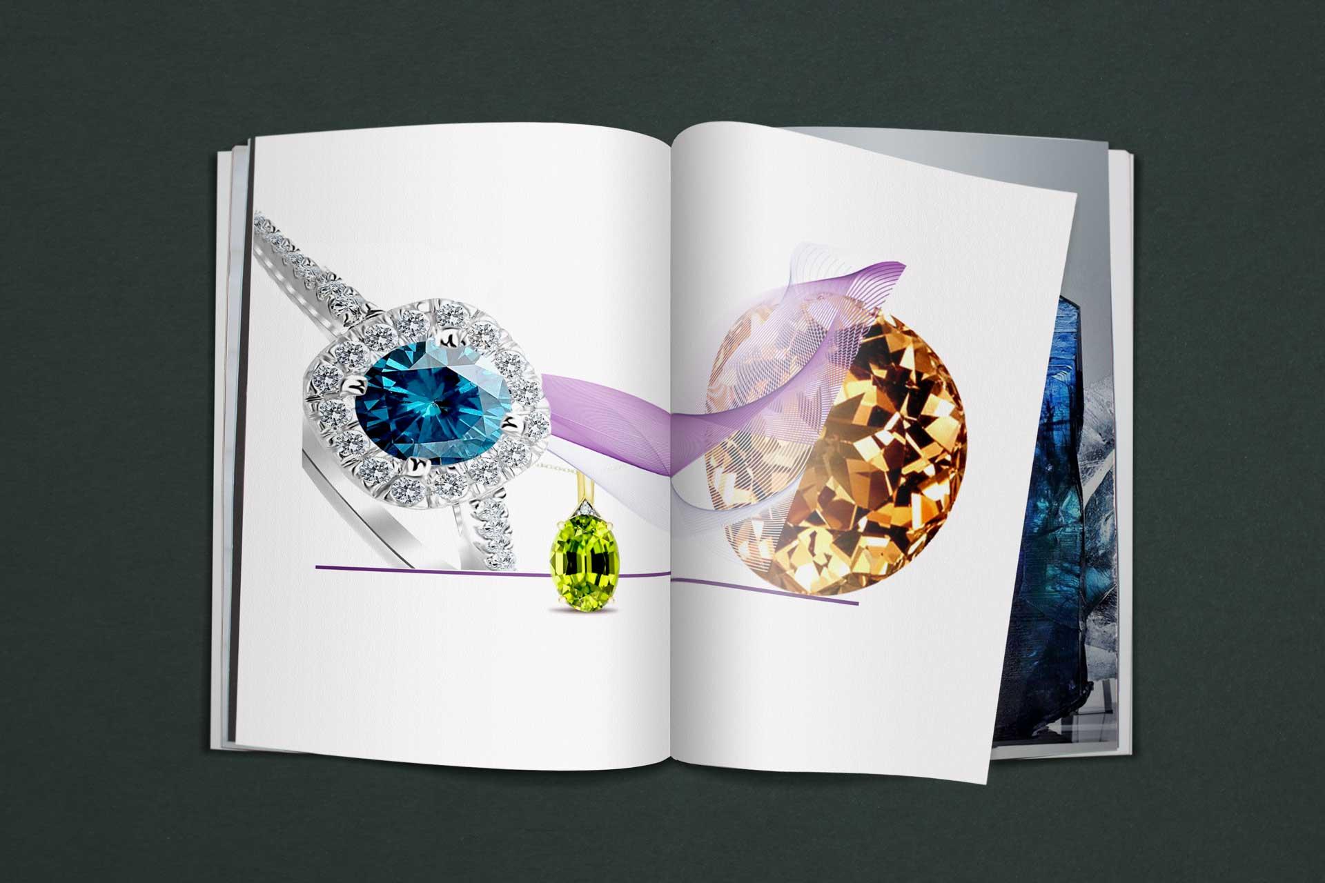 شناخت شفافیت سنگ های قیمتی