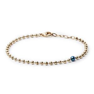 دستبند زنجیرهای مهره دار