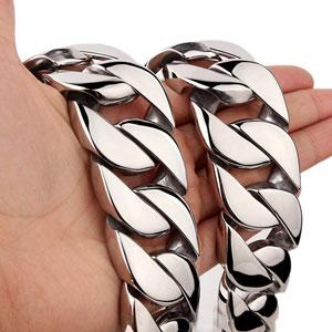 دستبند زنجیر کوبایی