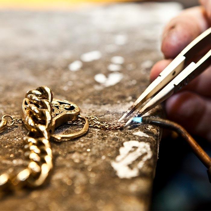 تعمیرات طلا