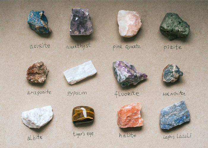 خواص درمانی سنگ ها و مواد معدنی
