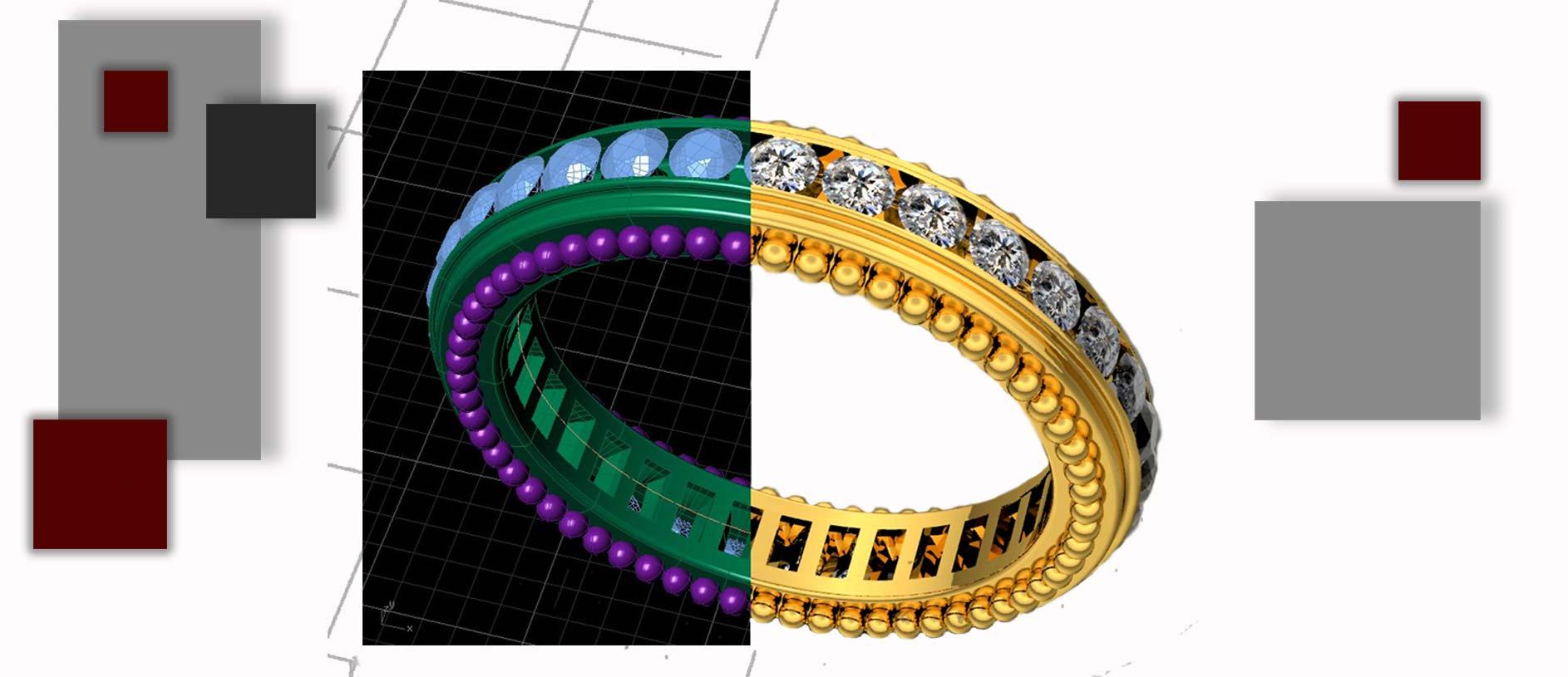 مدلسازی جواهرات