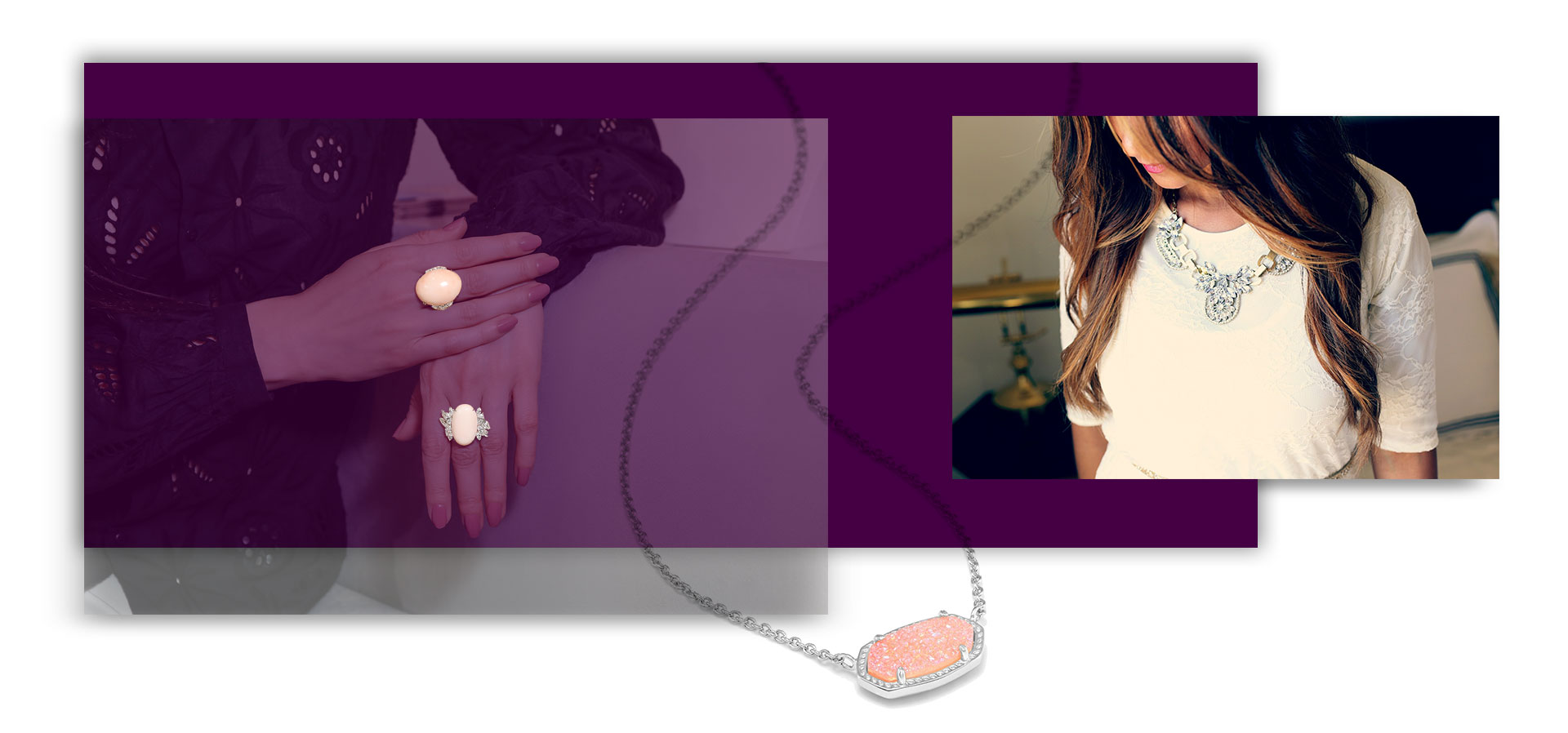 ست کردن لباس با جواهرات مناسب چهره