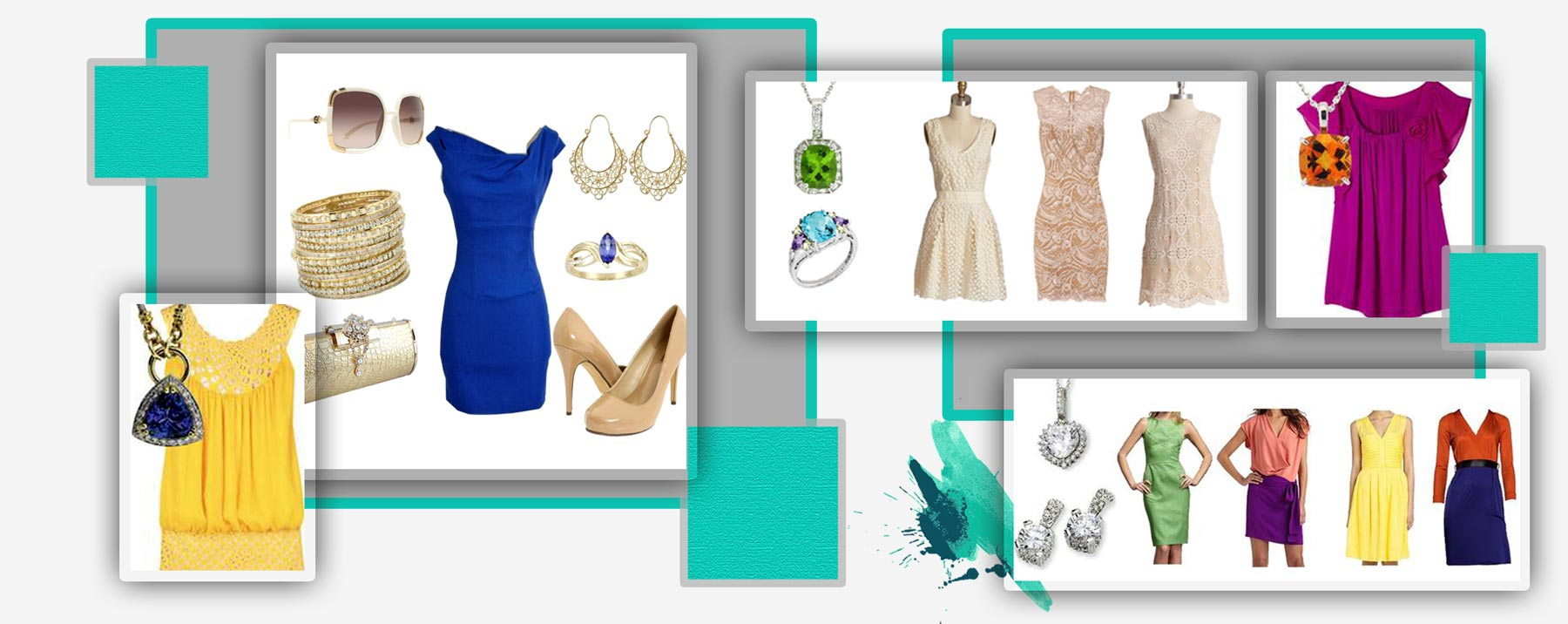 اهمیت ست کردن رنگ لباس و جواهرات