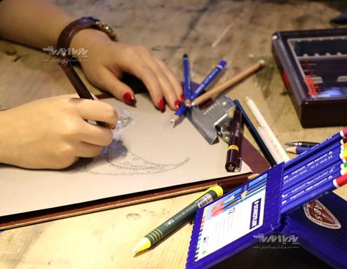 هنرجوی طراحی جواهرات