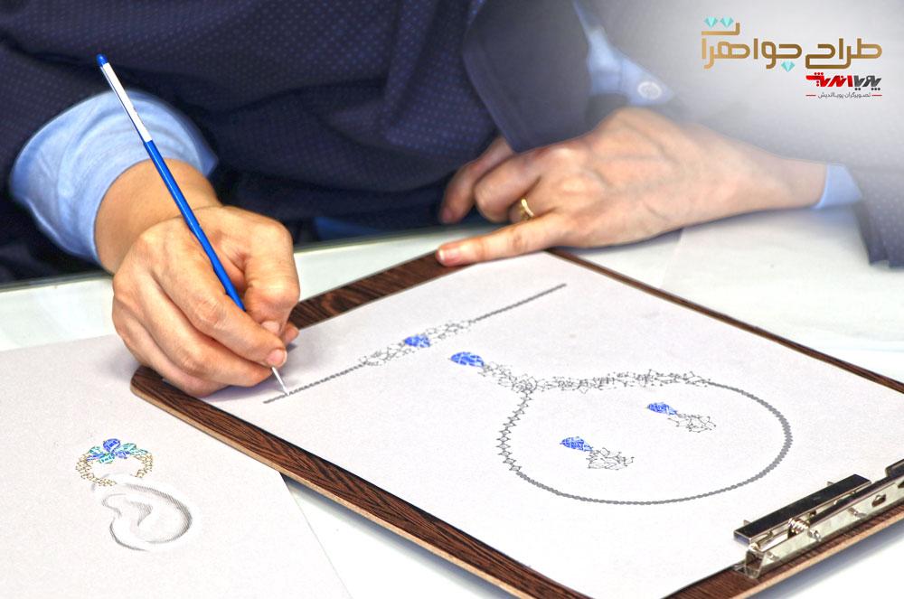 آموزش طراحی جواهرات دستی