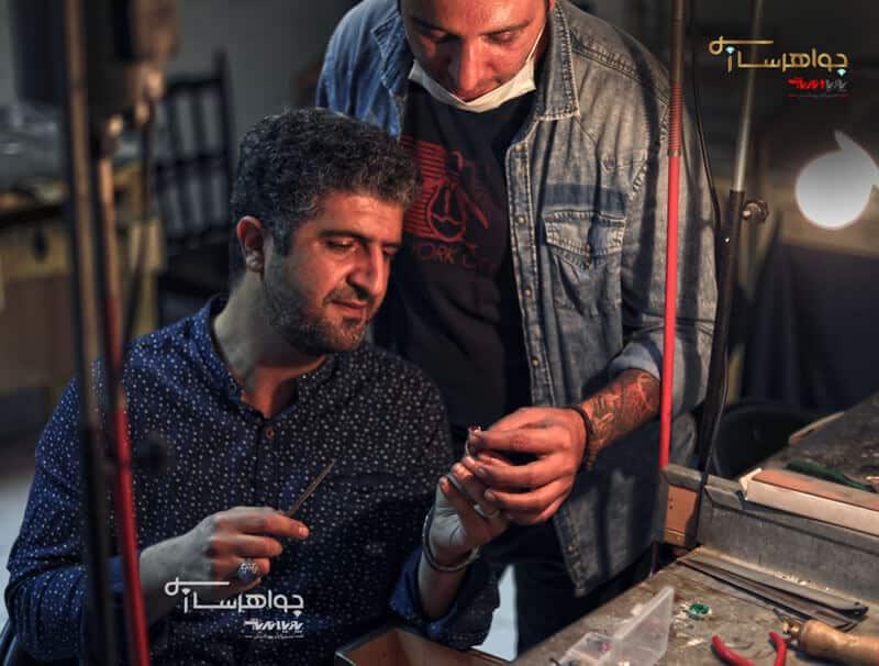 هنرجویان آموزش طلاسازی و جواهر